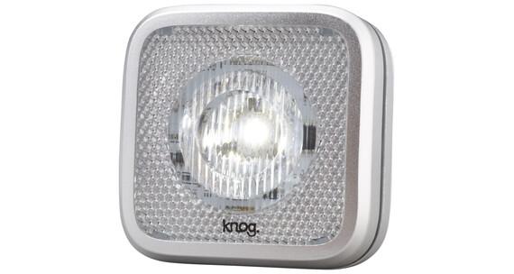 Knog Blinder MOB Frontlicht StVZO weiße LED silver